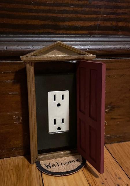 Power Outlet Door