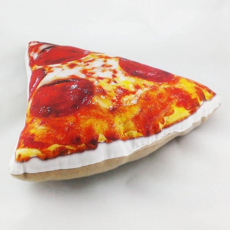 Pizza Slice Shaped Pillow