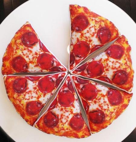 Pizza Slice Pillows