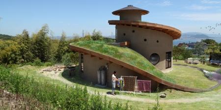 Spiral Garden House