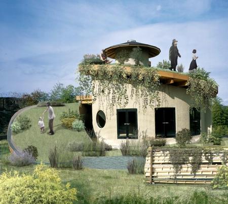 Spiral Garden Home
