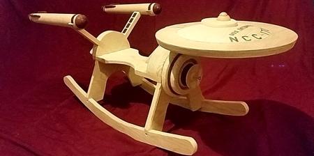 Star Trek Enterprise Rocker