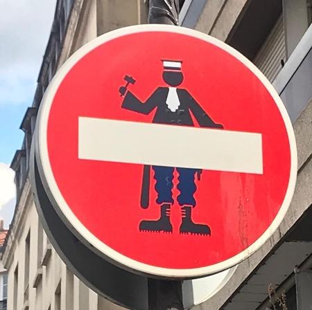 Road Sign Artwork