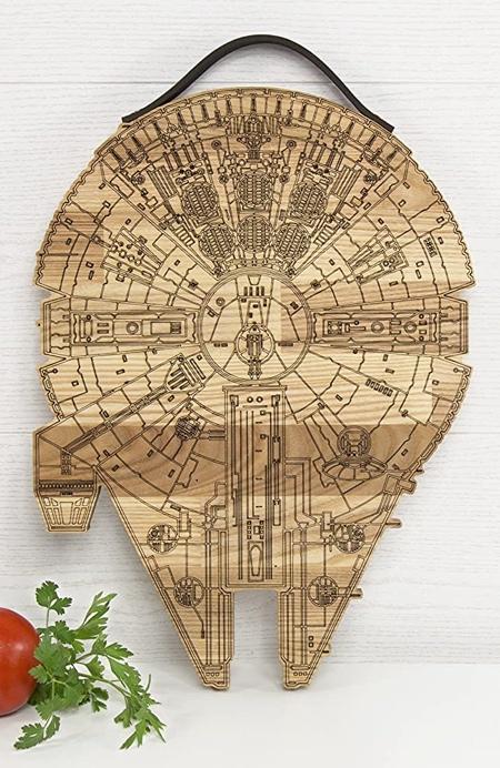 Star Wars Millennium Falcon Cutting Board