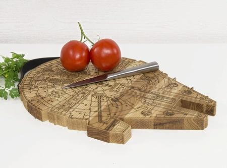 Promi Design Millennium Falcon Cutting Board