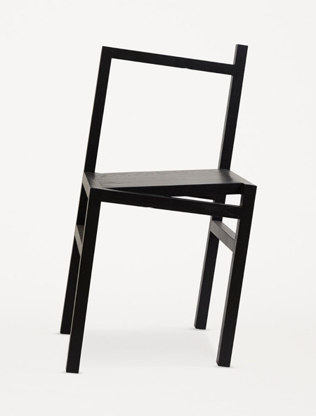 Rasmus B Fex Tilted Chair