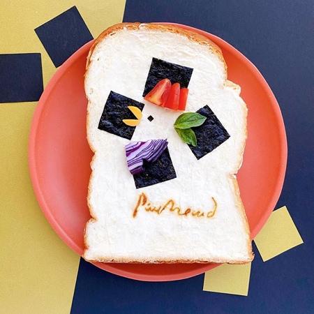 Manami Sasaki Toast Art