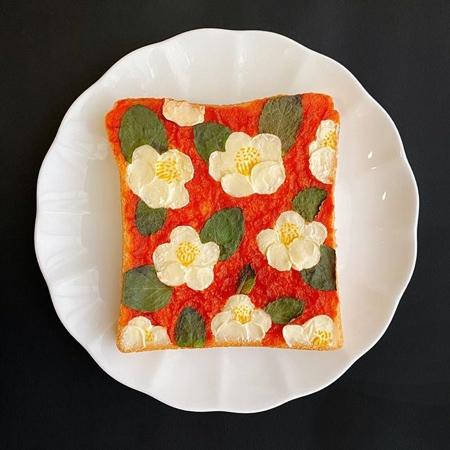 Sasamana Toast Art