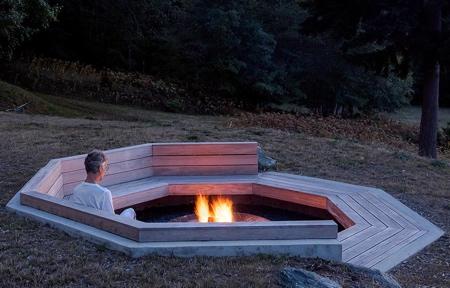 Octagonal Fire Pit