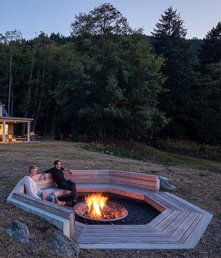 Heliotrope Fire Pit