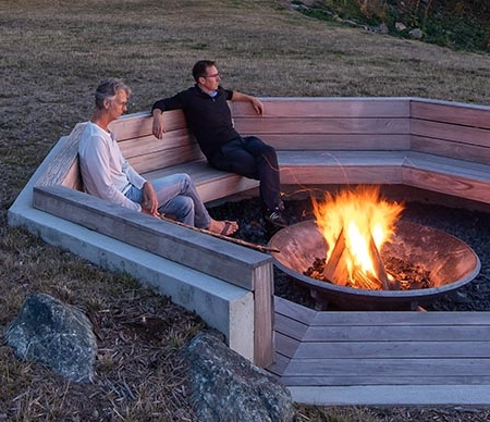 Heliotrope Architects Fire Pit