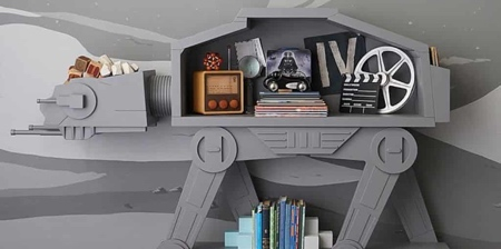 AT-AT Walker Bookcase