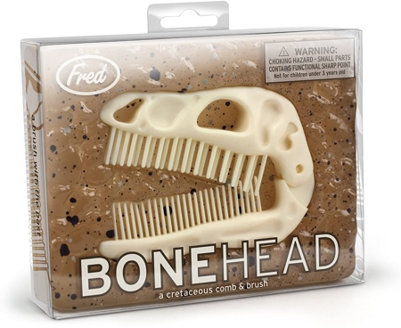 Fred BONEHEAD Folding Brush and Comb