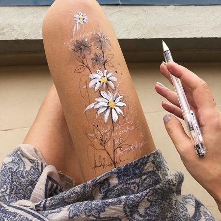 Legs Drawings