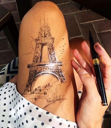 Legs Drawing
