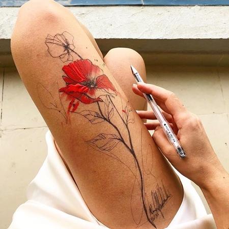 Draw on Legs
