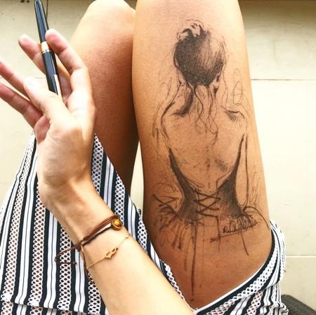 Randa Haddadin Legs Drawings