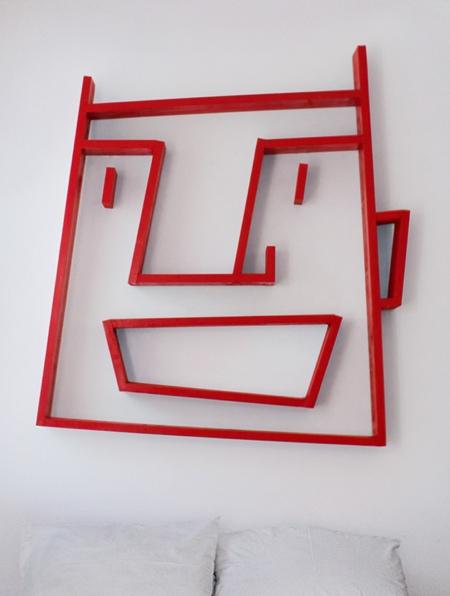 Face Bookshelf