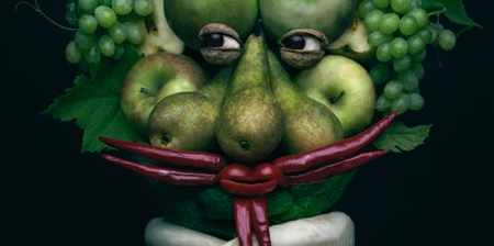 Fruit and Vegetable Faces