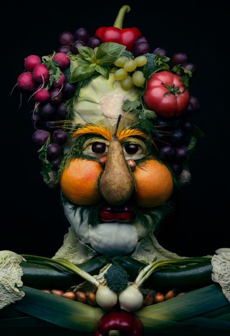 Vegetable Faces