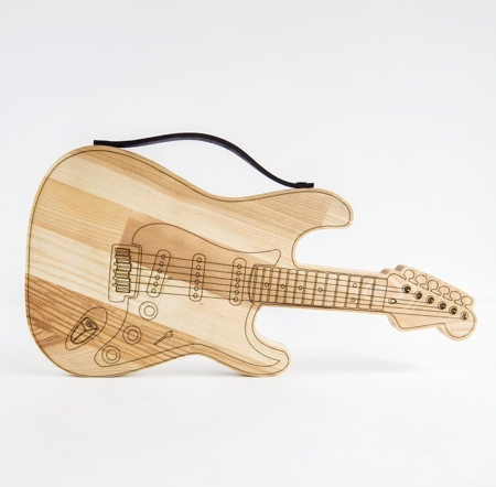 Guitar Chopping Board
