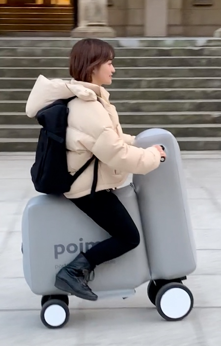 Inflatable Electric Scooter
