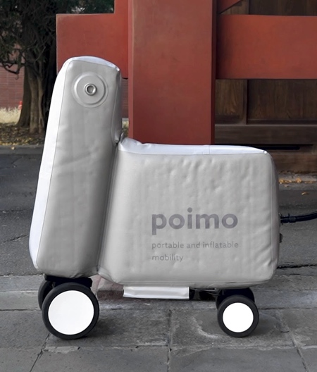 Inflatable Backpack Scooter