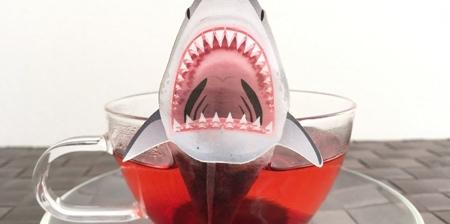 JAWS Shark Tea Bag