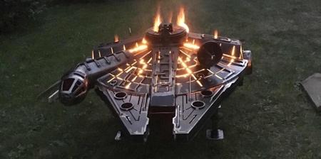 Millennium Falcon Fire Pit