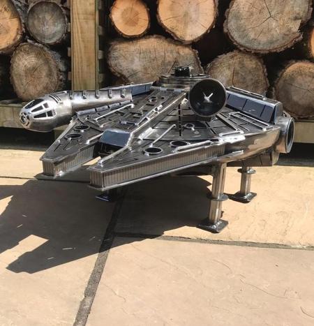 Star Wars Millennium Falcon Wood Burner