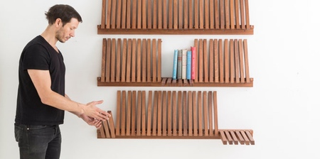 Piano Keys Bookshelf