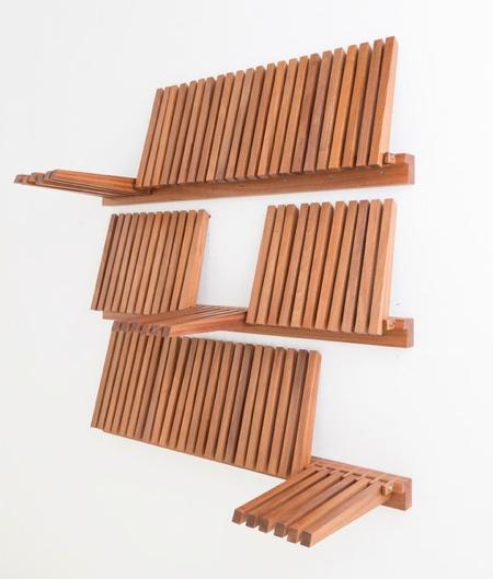 Piano Key Bookcase