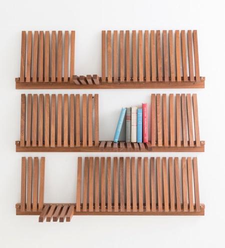 Piano Key Bookshelf