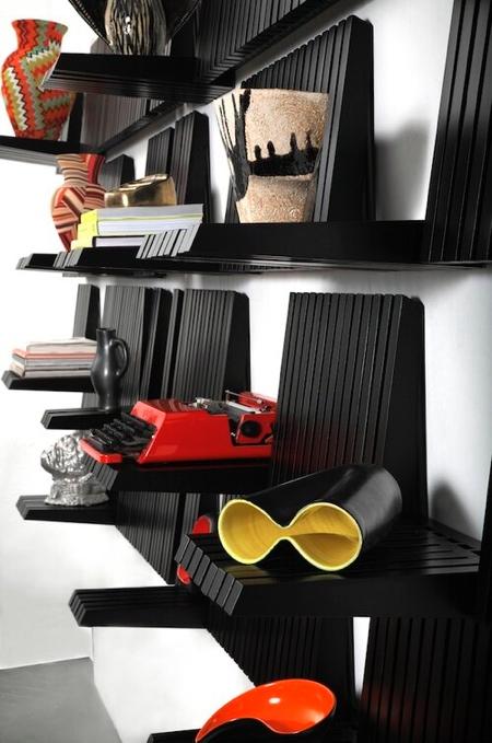 Piano Key Shelves