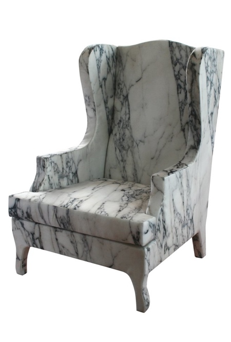 Fake Marble Chair