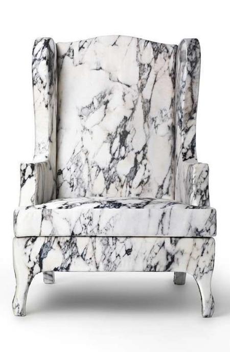 Maurizio Galante Soft Marble Chair
