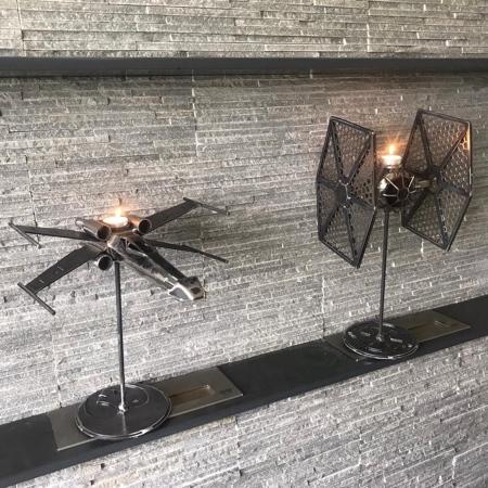 Star Wars Candle Sticks