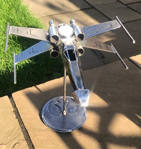 X Wing Candlestick