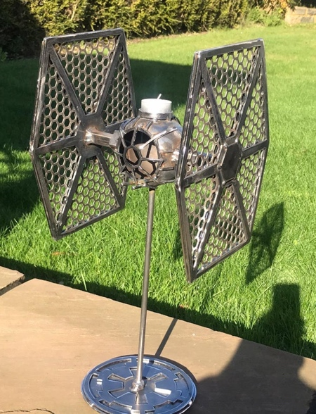 Tie Fighter Candlestick