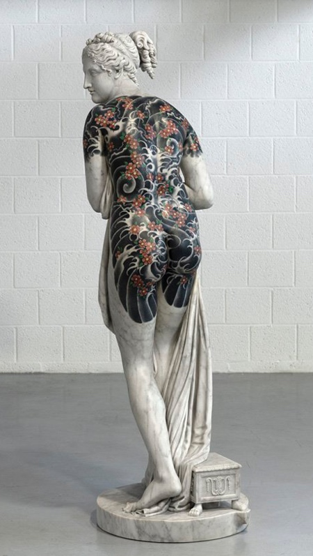Sculptor Fabio Viale