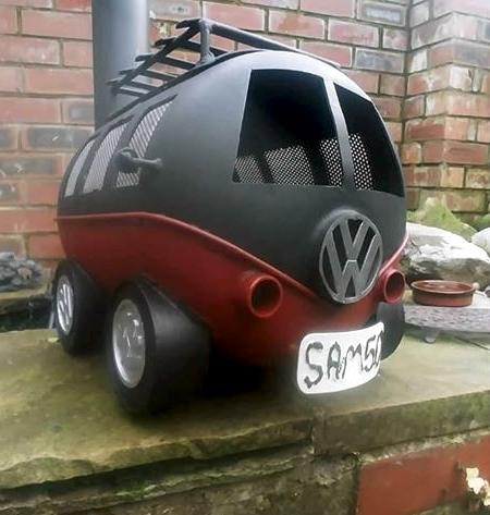 VW Wood Burner
