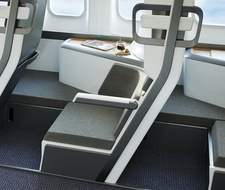 Zephyr Lie-Flat Airline Seat