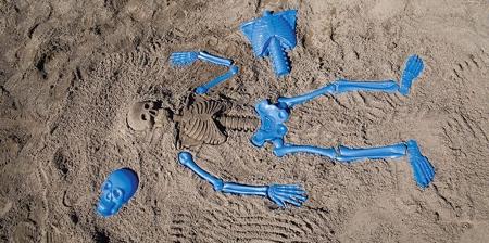 Skeleton Bones Sand Mold