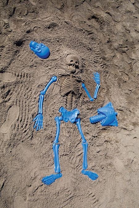Human Skeleton Sand Mold