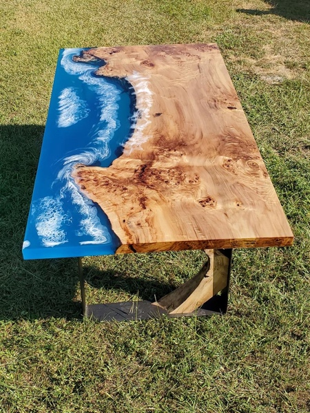 Coastline Wave Table
