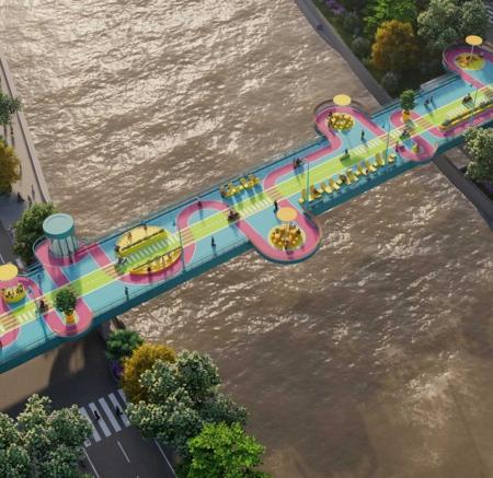 100architects China Bridge