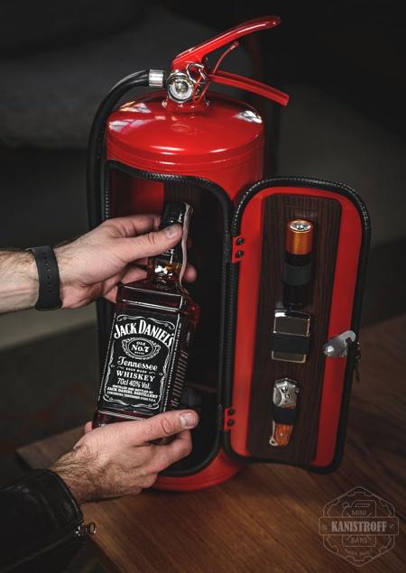 Fire Extinguisher Bar