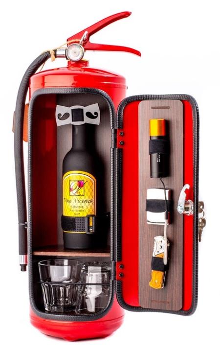 JerryCanBar Fire Extinguisher Mini Bar