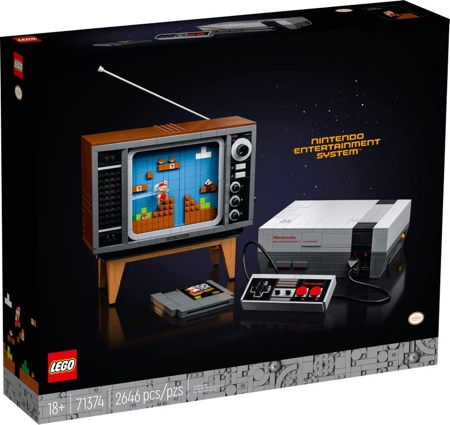 LEGO Nintendo Video Game System