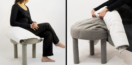 Blanket Footrest Chair